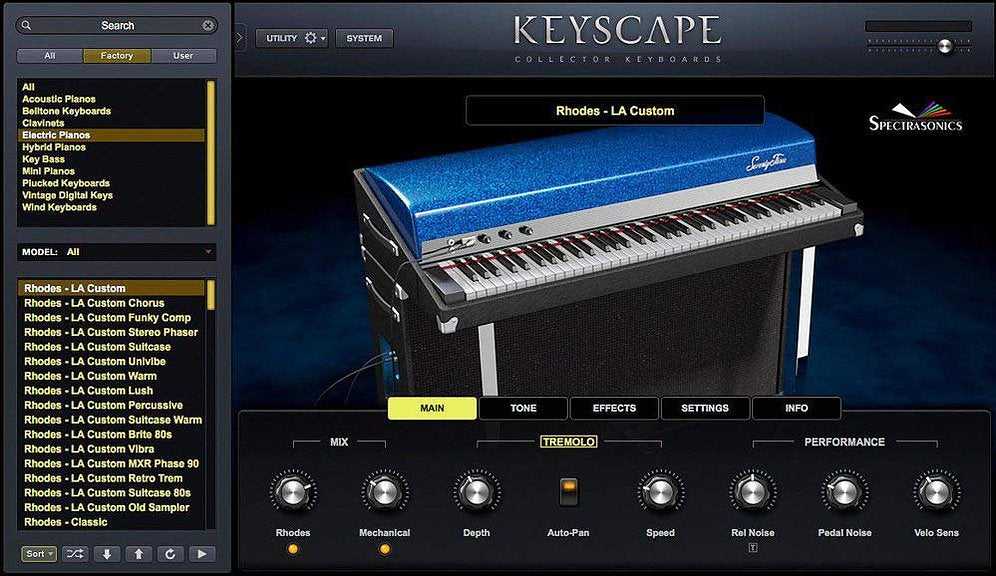 Spectrasonics Keyscape - Collector Keyboards