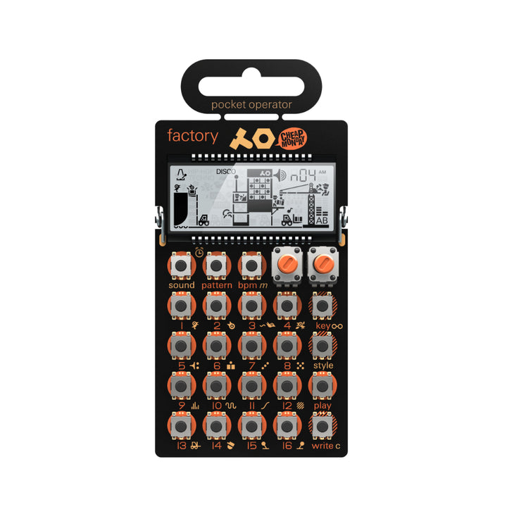 Teenage Engineering: PO-16 Factory