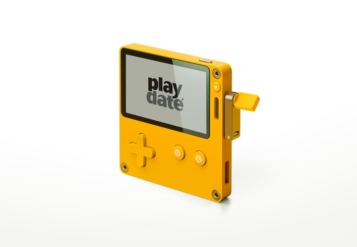 Playdate - handheld video game system