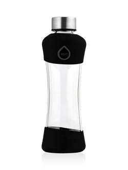 EQUA - Glass Bottle with Silicone Protected (Active Black)