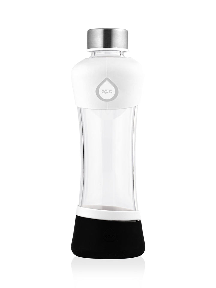 EQUA - Glass Bottle with Silicone Protected (Active White)