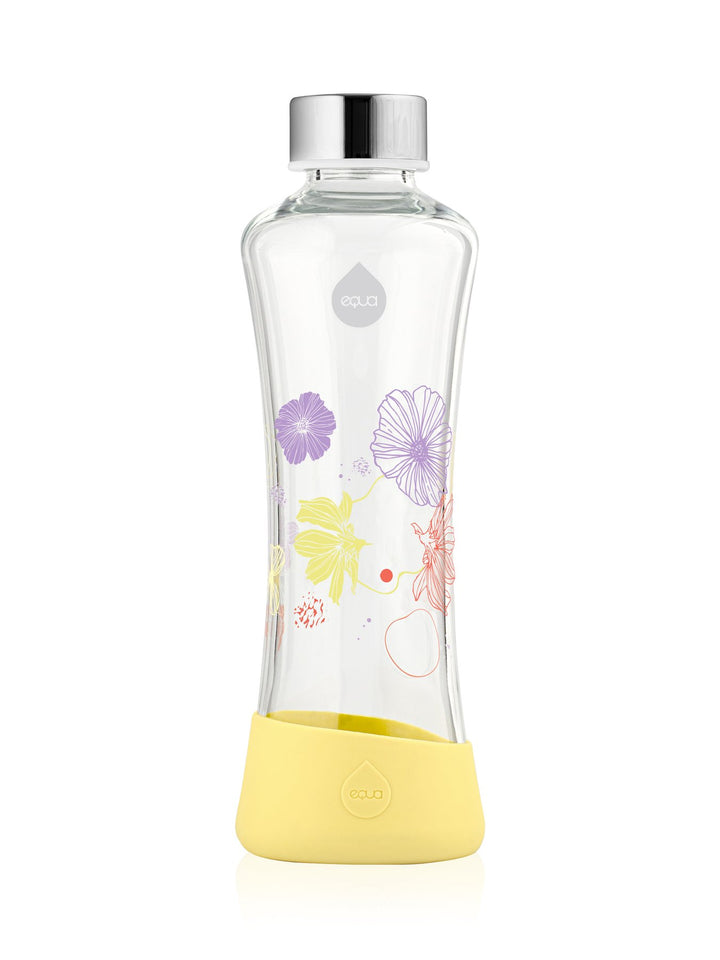 EQUA - Glass Bottle with Silicone Protected (Daisy)