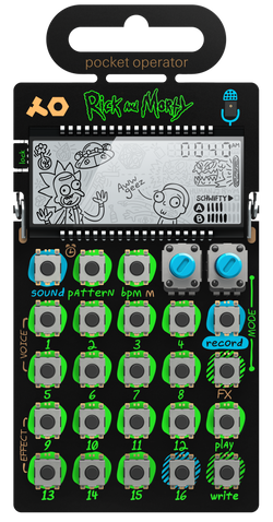Teenage Engineering: PO-137 Rick and Morty