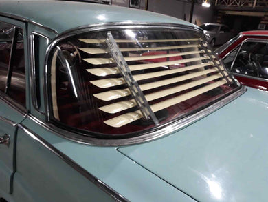 Mercedes-Benz W110 W111 Venetian Blinds Rear Window Louvers