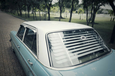 Mercedes-Benz W114 W115 Venetian Blinds Rear Window Louvers
