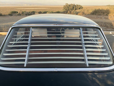 Mercedes-Benz W108 Venetian Blinds Rear Window Louvers