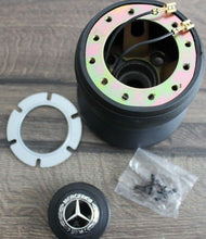 Load image into Gallery viewer, Mercedes-Benz Steering Wheel Hub Adapter Kit for W123 W124 W126 & Many More