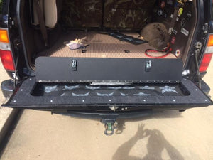 Toyota 80 Series Landcruiser Land Cruiser Tailgate Storage Mod