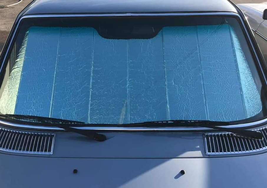 Mercedes-Benz W123 Custom Fit Folding Windshield Sunshade