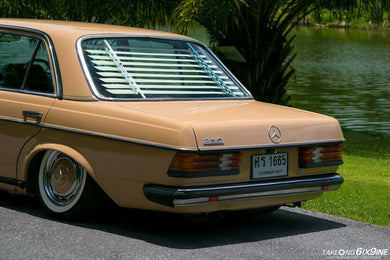 Mercedes-Benz W123 & W126 Venetian Blinds Rear Window Louvers