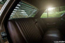 Load image into Gallery viewer, Mercedes-Benz W123 Venetian Blinds Rear Window Louvers Chrome