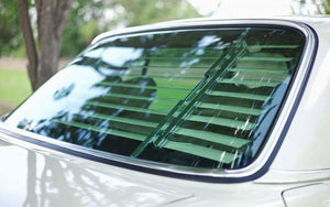 Mercedes-Benz W123 Venetian Blinds Rear Window Louvers Chrome