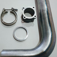 "Charger l'image dans la galerie, Mercedes-Benz OM617 Exhaust Hood Stack Bolt-On Kit 3"" W123 & W126"
