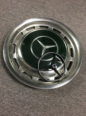 Vintage Mercedes-Benz Wheel Hubcap Painting Stencil