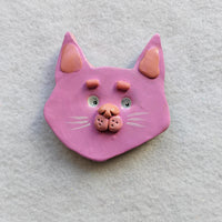 Pink Kitty Magnet