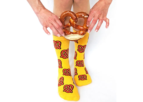 Pretzel Twist Socks