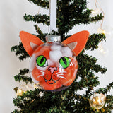 Smiling Kitty - Cat Ornament