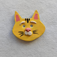 Yellow Cat Magnet