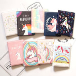 16 Different New Style Unicorn Passport Cover PU Leather