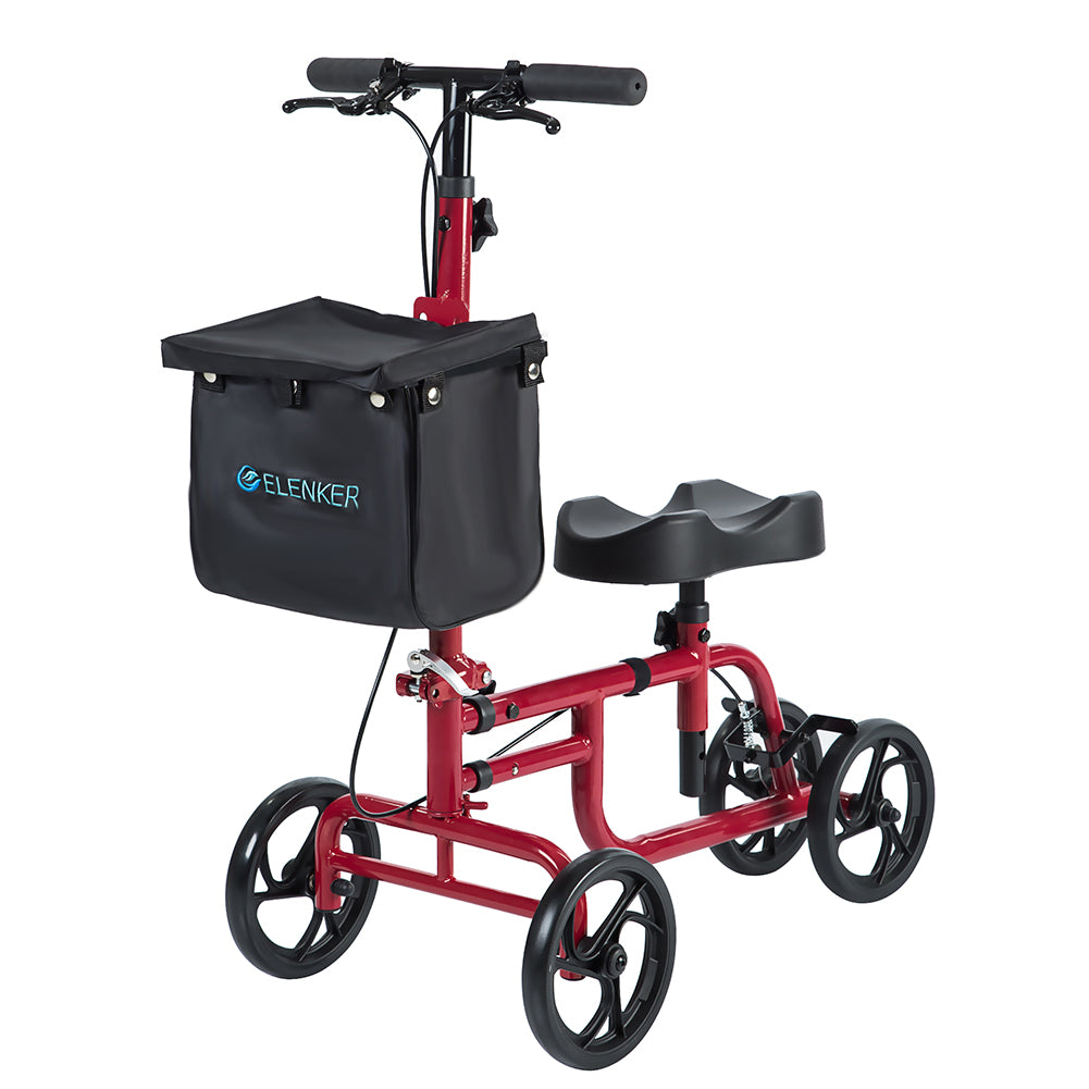 HFK-9225  Best Value Walker Steerable Medical Scooter Crutch Alternative with Dual Braking System