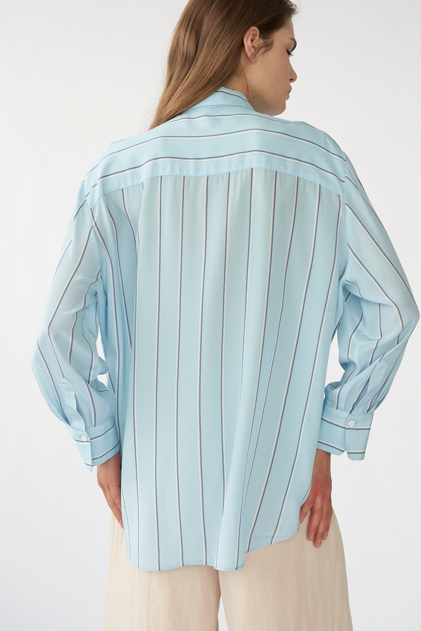 Eliza Shirt - Blue Stripe