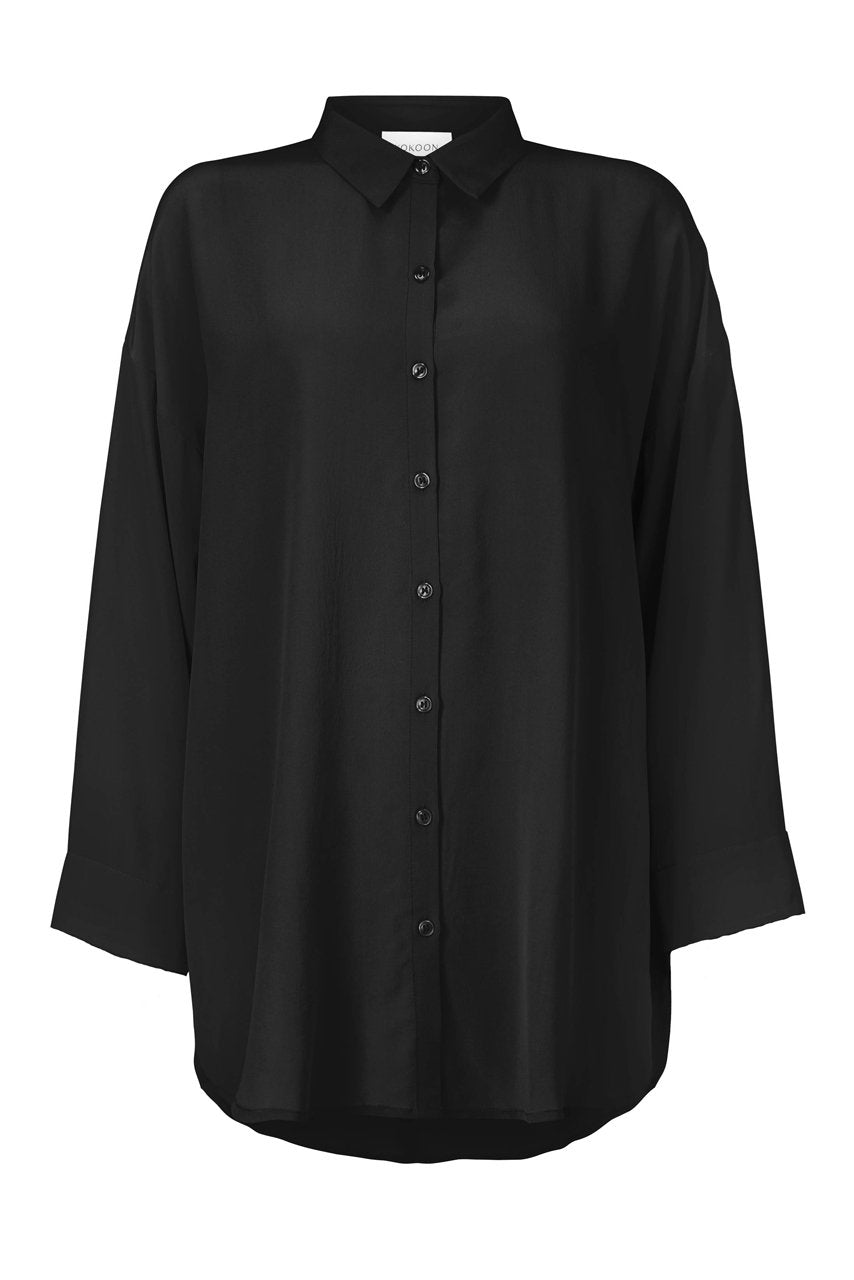 BIANCA SHIRT - BLACK