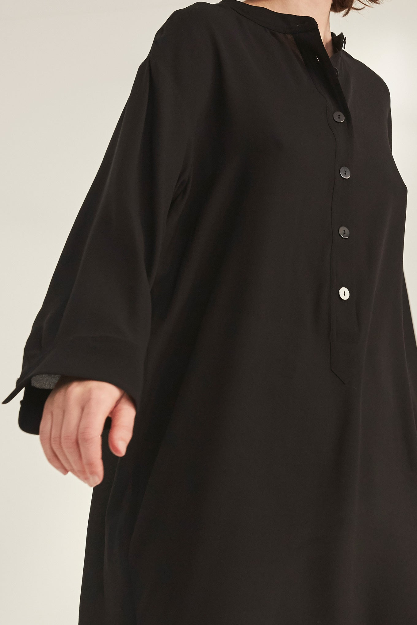 Bella LS Tunic - Black