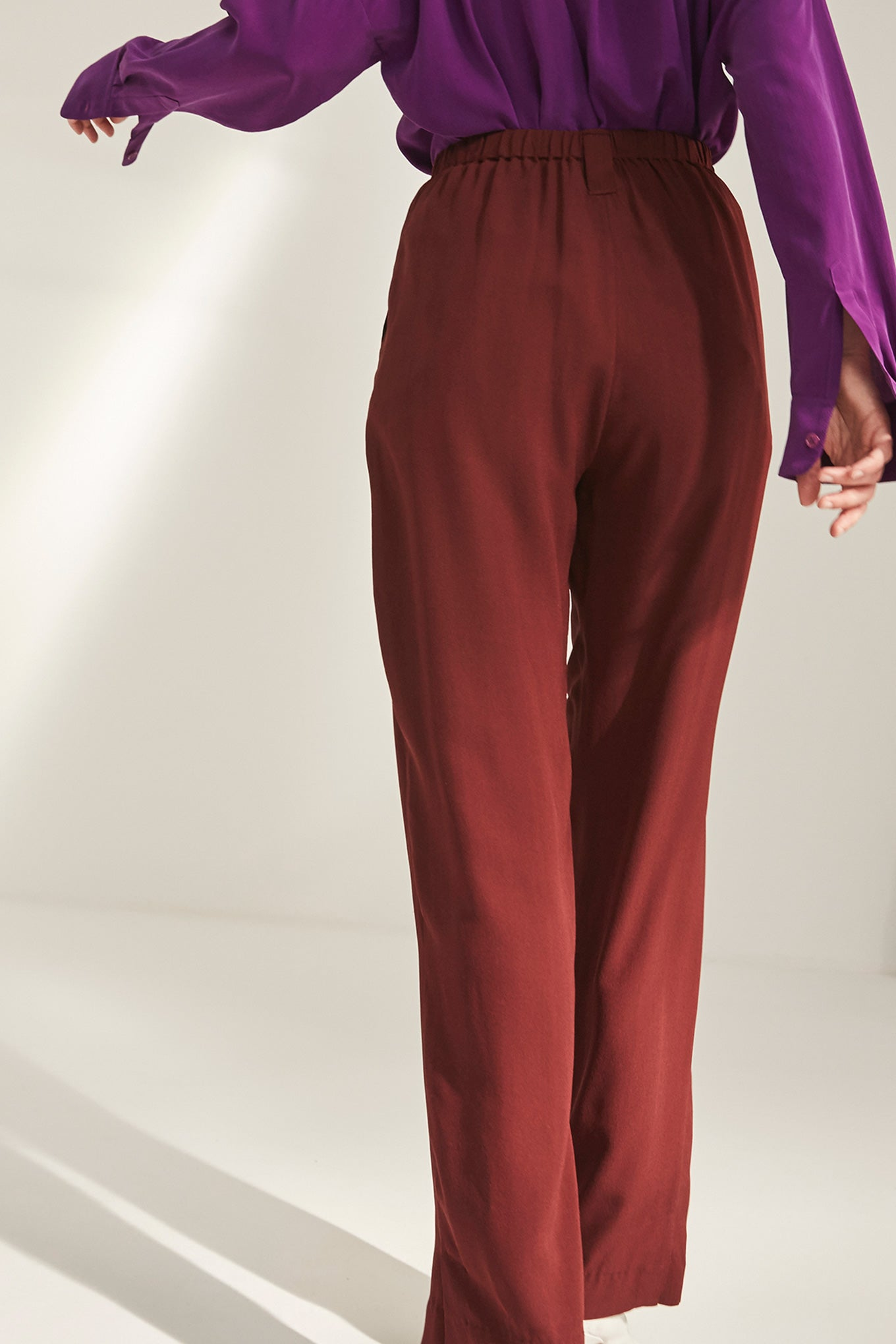 Harry Pants - Burgundy