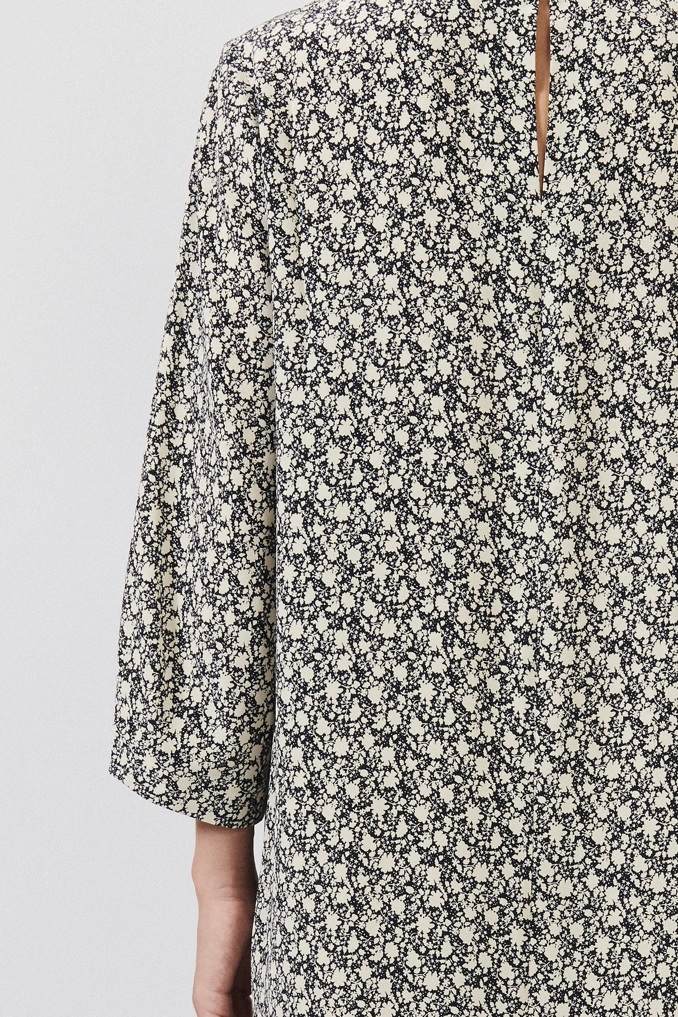 CORA DRESS - MINI FLOWER PRINT