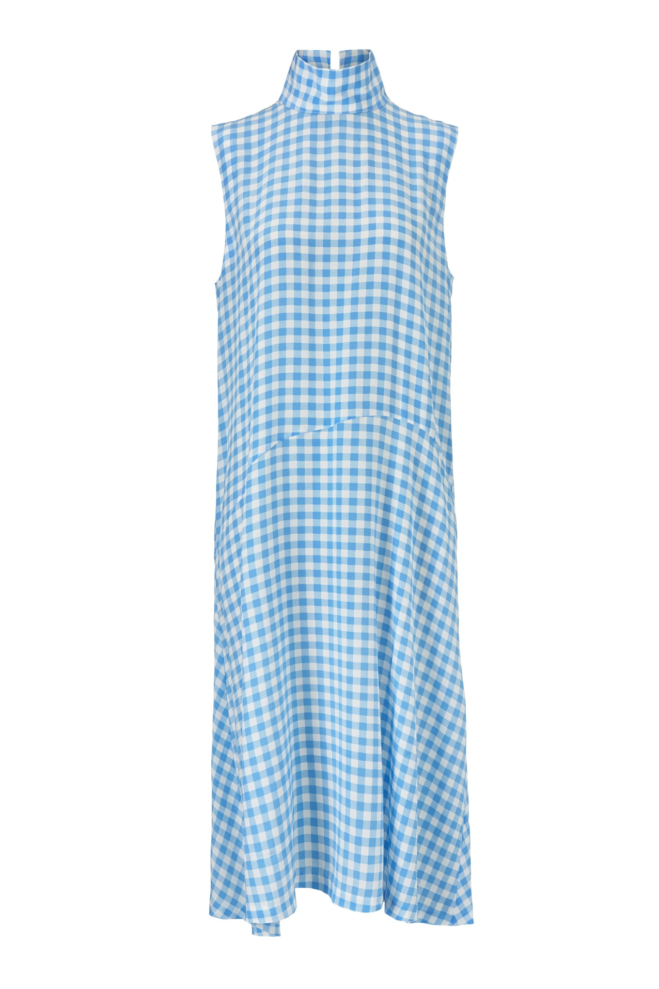 Vienna Dress - Blue Check
