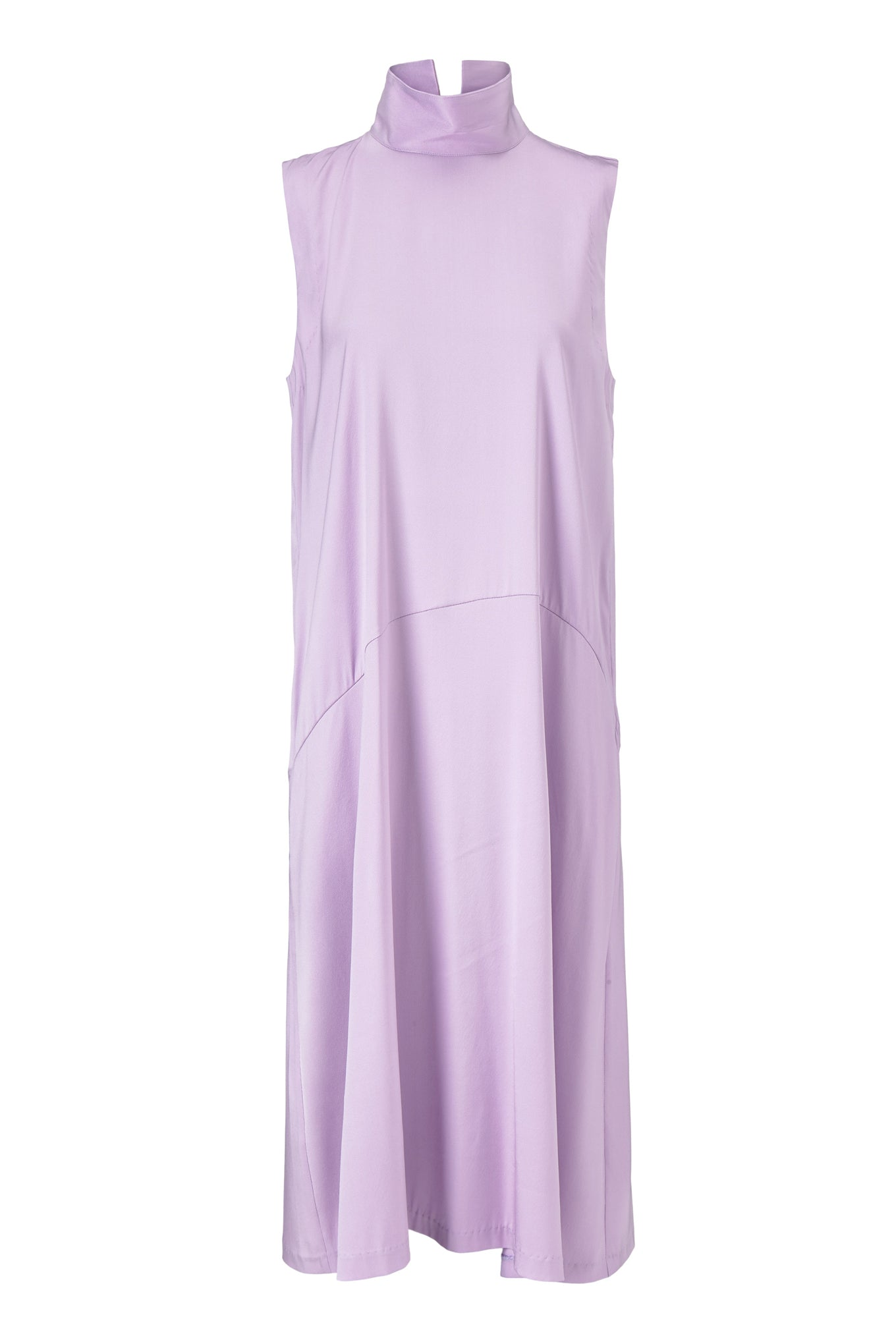 Vienna Dress - Lilac - Silk/Spandex Twill