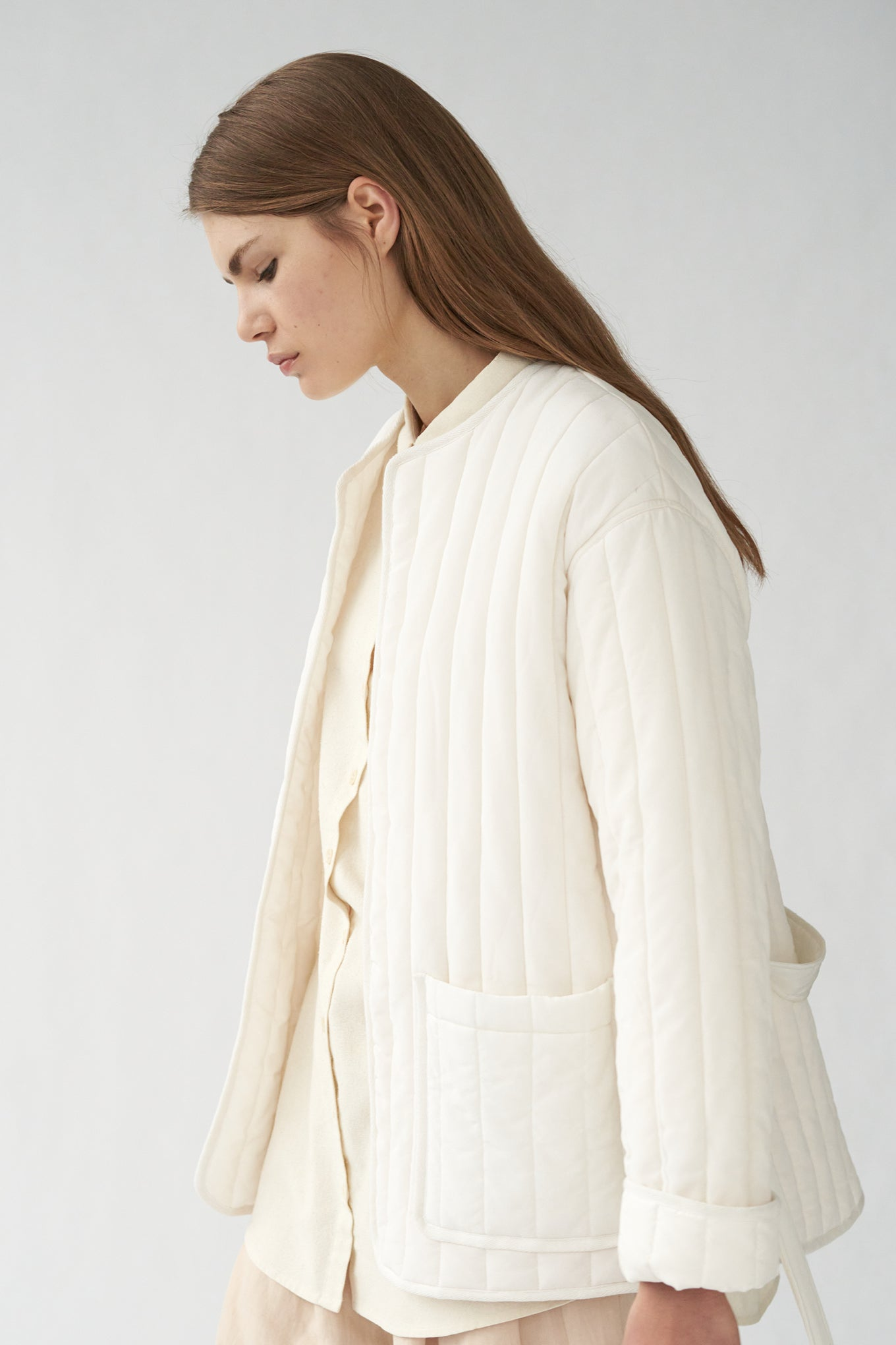 MITCHEL JACKET - OFF WHITE