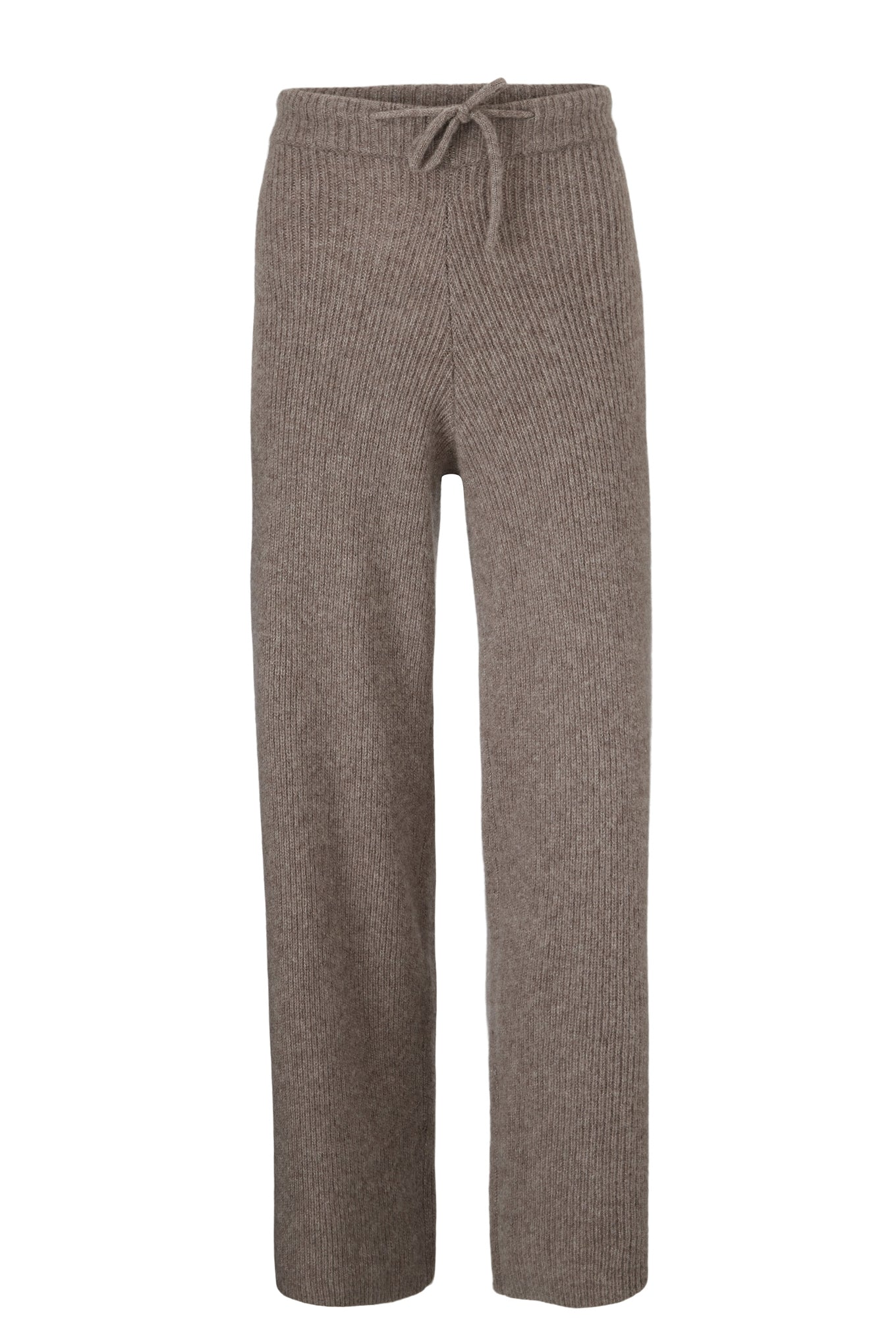Zigga Knit Pants - Hazelnut - Silk/Cashmere