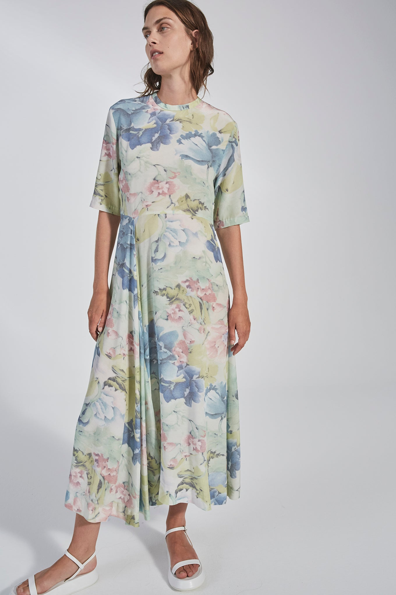 Faye Dress - Curtain Flower