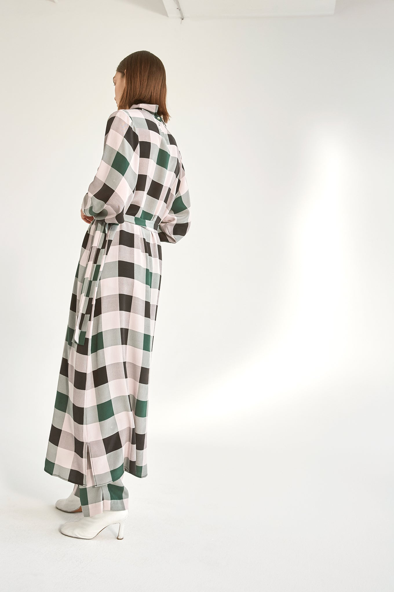 KALA DRESS - PURPLE CHECK