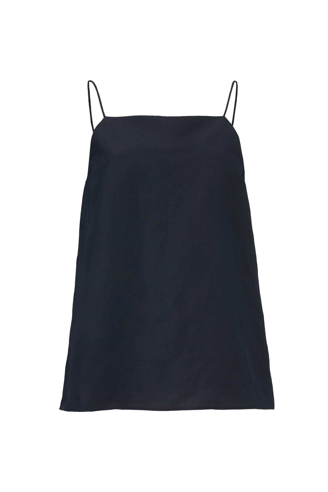 Lexie Top - Black - Silk/Linen