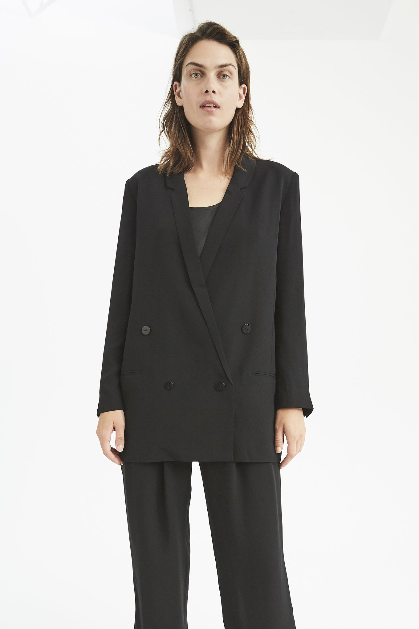 Oxford Blazer - Black