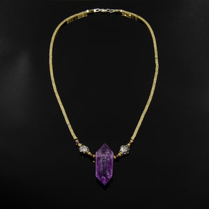 Heart Star -Ametrine and Garnet