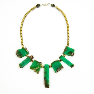Warrior - Chrysoprase