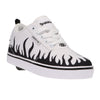 White/Black Flames