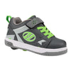 CHARCOAL/GREY/NEON GREEN