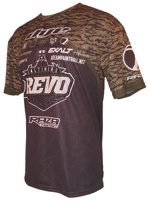 Baltimore Revo Tiger Stripe Tech Shirt
