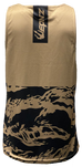 Wepnz 2Tone Tiger Black/Tan Tank Top