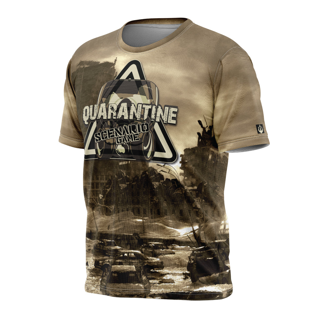 Quarantine Scenario Tech Shirt