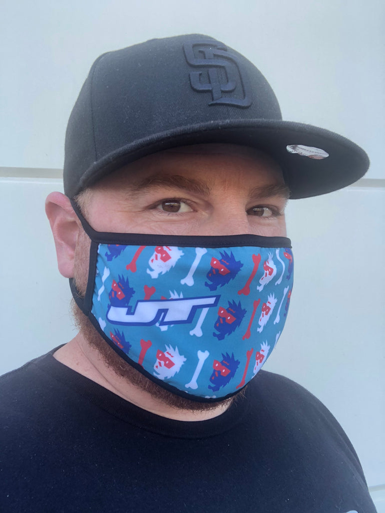 JT Bad 2 The Bone Face Mask
