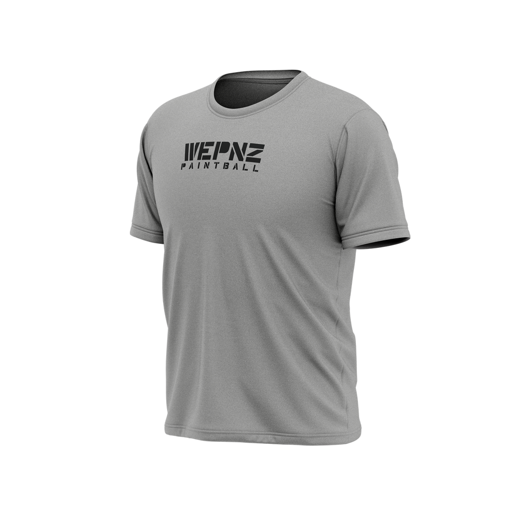 Wepnz Paintball Grey Tech Shirt