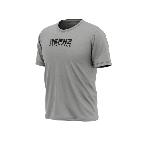 *IN STOCK* Wepnz Paintball Grey Tech Shirt
