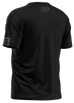Freeflow Black Grey Stripe Tech Shirt