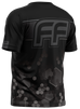 Freeflow Black Grey Stripe Hex Tech Shirt