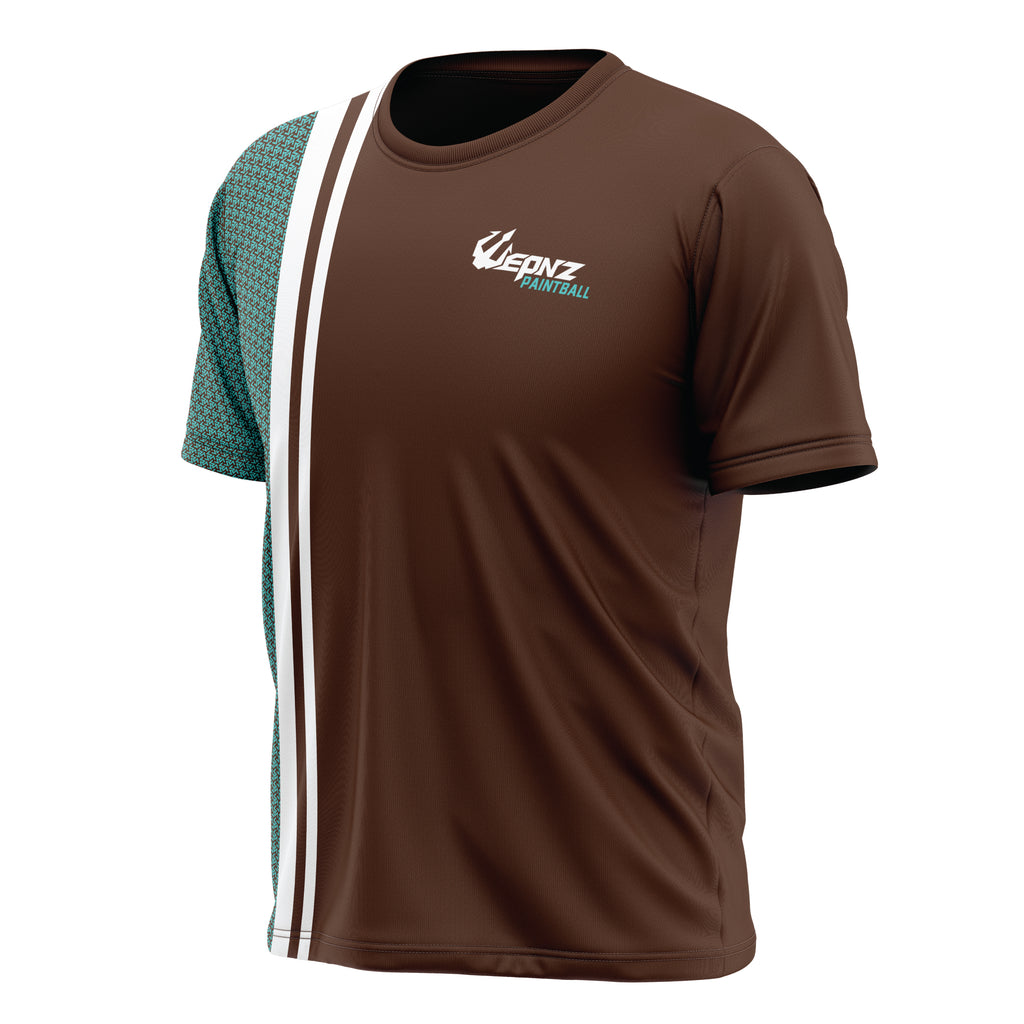 GT Brown Tech Shirt